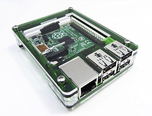 C4Labs Zebra Case-Raspberry Pi B + und 2B (Evergreen)
