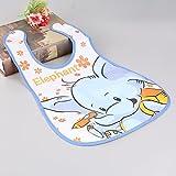 HapBest Baby Waterproof Lunch Feeding Bibs Newborn Baby Cute Cartoon Feeding Cloth Towels Children Apron Kids Feeding Accessories (A)