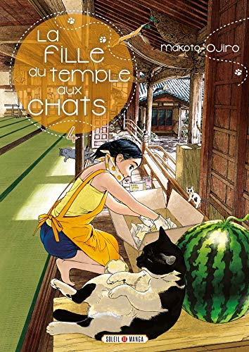 La Fille du Temple aux Chats Edition simple Tome 4