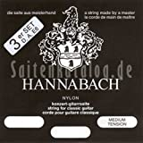 Hannabach 8007 MT Silver-Plated, 3-Bass Set