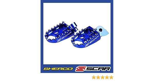 Bleu Repose cale pied Evolution SHERCO SER SEFR 125 250 300 450 SCAR