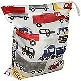 niceEshop(TM) Bebé Impermeable Bolsa de Pañales con la Cremallera para Carro de Bebé