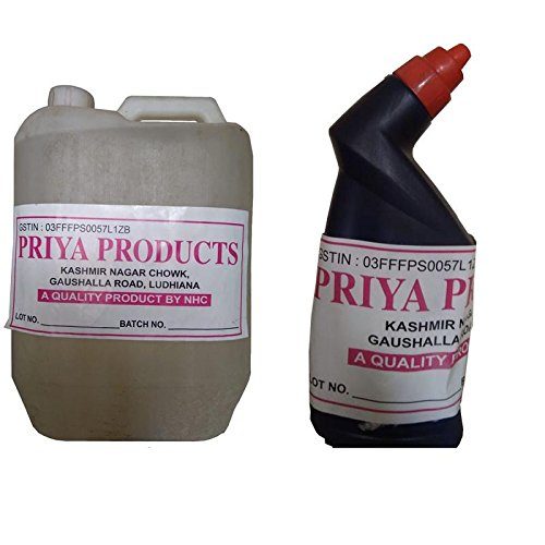 Priya Products Ezzee For Clothes & Toilet Cleaner Combo Of 2