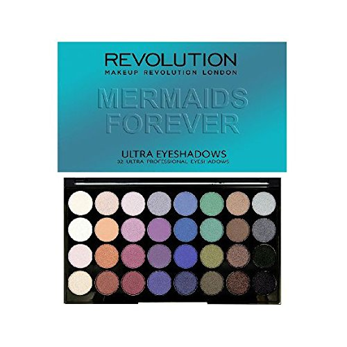 Makeup Revolution London 32 Eyeshadow MERMAIDS FOREVER
