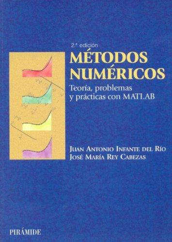 Metodos numericos/Numerical Methods: Teoria, Problemas Y Practicas Con Matlab (Ciencia Y Tecnica) por Juan A. Infante Del Rio