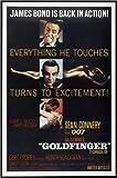 Posterlounge Alu Dibond 120 x 180 cm: James Bond 007 - Goldfinger von Everett Collection