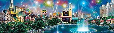 Buffalo Games Alexander Chen Panoramic: Las Vegas Twilight Jigsaw Puzzle (750 Piece)