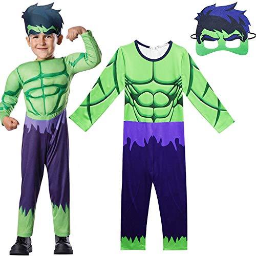 ZHANGWENXIN Baby Jungen Hulk Kostüm Romper Superhero