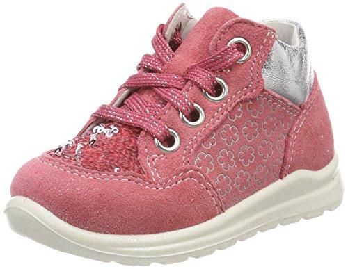 Superfit Baby Mädchen Mel Sneaker, Pink (Rouge Kombi), 23 EU