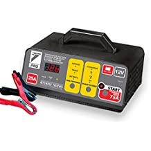 Auto7708.950Cargador de batería 25A con ayuda de arranque 75A 12V para baterías 10Ah con 250Ah