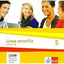 Línea amarilla. Spanisch als 2. Fremdsprache / Lehrer-CD 5