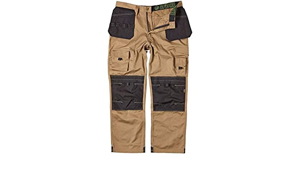 Stone36W x 29L Apache Mens Holster Polycotton Holster Trouser