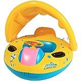 Profun Tabla Hinchable Paddle Surf con Asiento y Parasol Juguete de Piscina de Desarrollo de Natación