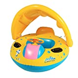 Arshiner Babies Kids Sunshade Swimming Inflatable Boat Swimming - Best Reviews Guide