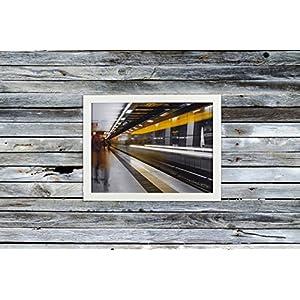 Taunril Carnesir Photography Poster gerahmt *HAMBURG* *Jungfernstieg* 30 x 40 cm - Einzelstück, Unikat, Fotografie, Bild als Poster