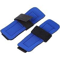 Wenquan,1 par Aolikes Sports Yoga Gym Correa de muñeca Ajustable(Color:Azul)