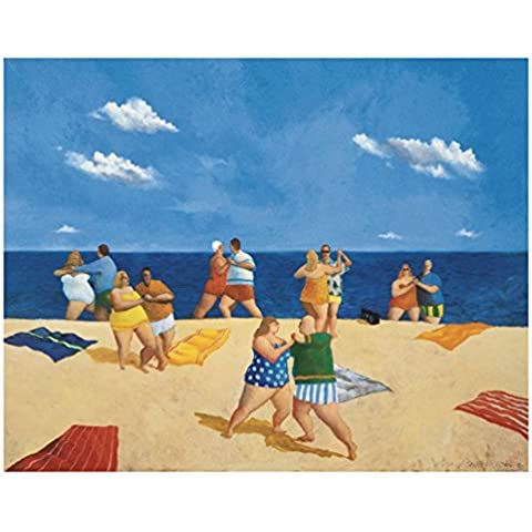 First Art Source - Lámina, diseño de la obra Tango Beach de Michael Paraskevas