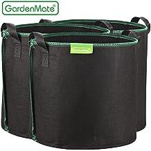 GardenMate® 3x Sacs Jardinière à plantes en tissu non tissé 30L