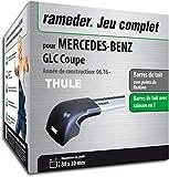 Rameder Pack Barres de Toit WingBar Edge pour Mercedes-Benz GLC Coupe...