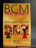 BCM Nährwert-Tabelle