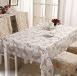 Tischdecke PVC geschmacklos wasserdicht Kunststoff Tischdecke transparent wasserdichte Tisch Tischdecke weichen Glas Tischmatten Couchtisch Pad , 110*160cm (for 70*130cm tea table)