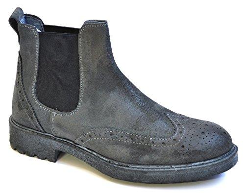 GRANADA -- Drudd Chaussures bottes pour homme Gris