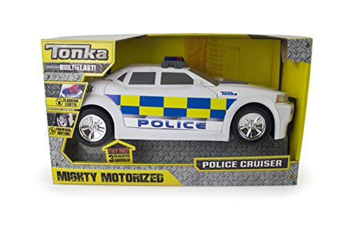 Tonka 07765 Mighty Motorized UK Police - Juguete para Coche