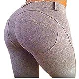 ZEARO Damen Elegant Elastische Leggings Stretchy Hosen Push Up Hüfte Leggings Butt Lift Pants Casual Skinny Jeans