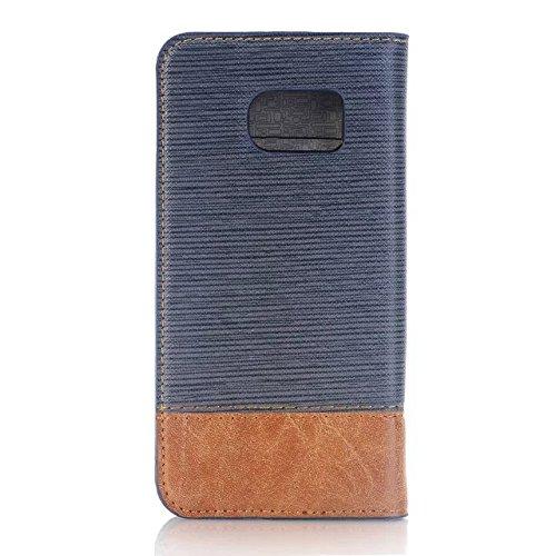 Samsung S7 S7 Edge Case,grenzen Überschreiten Muster Pu - Leder - Fall Weiche Decken Mit Karte Und Cash - Slots Für Samsung S7, S7 Rand ( Color : 1 , Size : S7 Edge ) 2