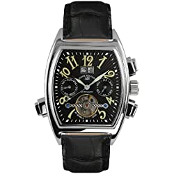 André Belfort Men's Royale Date Watch 410003 Black