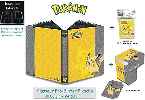 Offre Lagiwa - Classeur Pro Binder Pikachu capacité 360 cartes