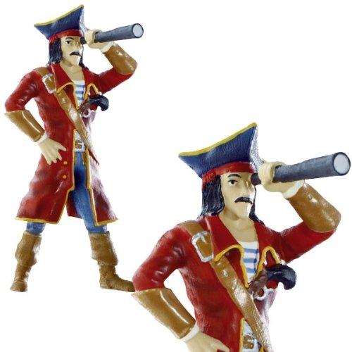 Piraten-Kapitän Torten- und Spielfigur, Bullyland, 5x11cm, handbemalt