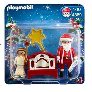 PLAYMOBIL 626577 – Navidad Ángel+Papá Noel+Órgano