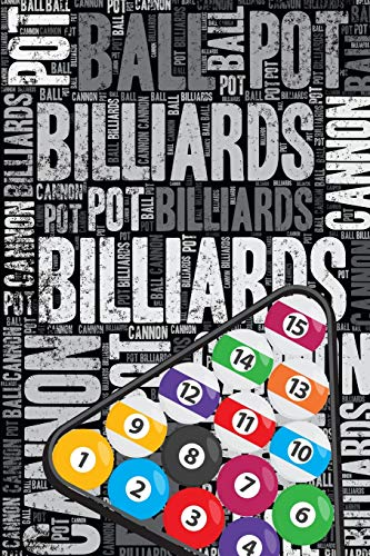 Billiards Journal: Cool Blank Lined Billiards Lovers Notebook For Player and Coach