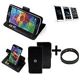 TOP SET: 360° Schutz Hülle Smartphone Tasche für Homtom