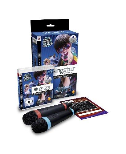 SingStar Starter Pack inkl. Wireless Mikrofone