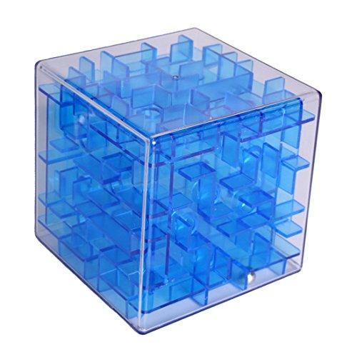 Larcele 3D Geschwindigkeit Puzzle Labyrinth Box LTMG-01 (Blau) (Geschwindigkeit Kugel)