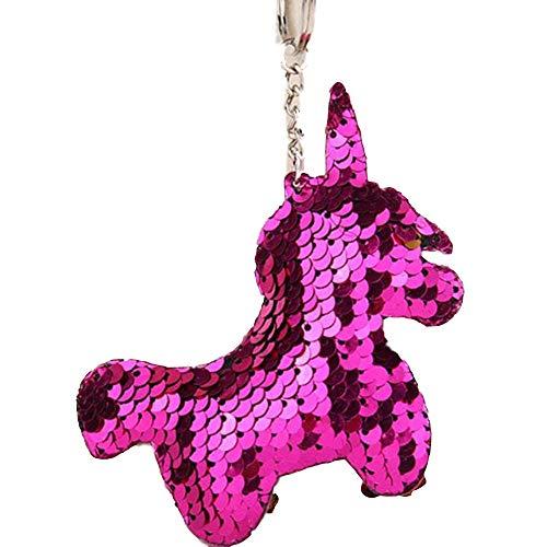 AGGIEYOU Nette Katze Keychain Glitter Pompom Pailletten Schlüsselanhänger Geschenke für Charms Car Bag Schlüsselanhänger, YL001