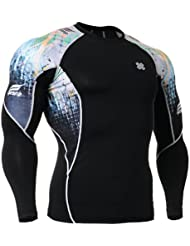 Fixgear Homme Femme Skin Cycling Base Layer Tight Compression T Shirt