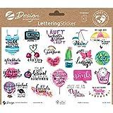 Avery Zweckform 54546 - Pegatinas decorativas (42 unidades, en hojas A5, etiquetas para diario, tarjetas, regalos, etiquetas
