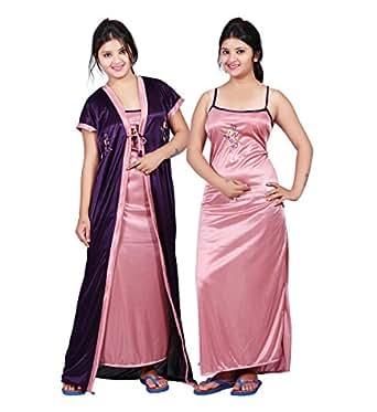 Bailey Women s Satin Dress (BAILEY0150  Beige  Free Size)  Amazon.in ... 175b5988e