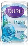 Duru Fresh Seife Festseife Handseife Ocean Breeze 4x115gr
