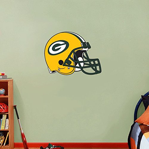 Green Bay Packers NFL Football Home Decor Art Wall Vinyl Sticker 63 x 48 cm (Home Packers Green Bay Decor)