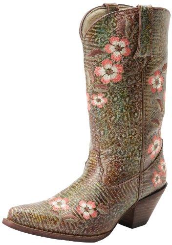 Durango Boots Stiefel/Durango Floral Bouquet RD3564/Damen Fashion Westernstiefel/Damen Fashion Stiefel -