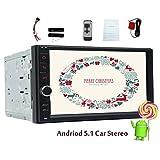 Remoter-Controller als Geschenk Quad-Core-Android 5.1 Lollipop Autoradio-7-Zoll-Doppel Din im Schlag-Stereo