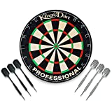Kings Dart Turnier-Dartboard Set