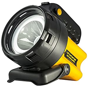 511gXMytOBL. SS300  - Rechargeable LED Work Light Torch 1 Million Candle Power Spotlight Hand Lamp