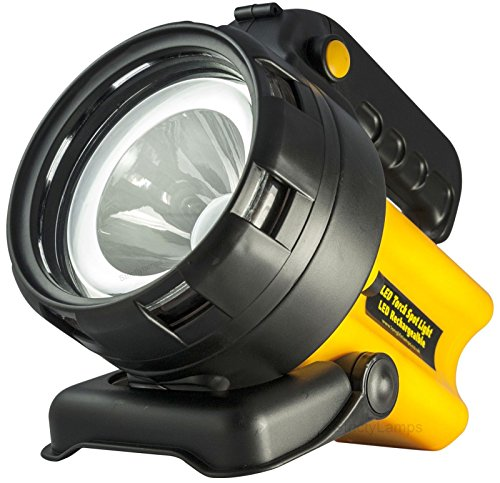 511gXMytOBL - Rechargeable LED Work Light Torch 1 Million Candle Power Spotlight Hand Lamp