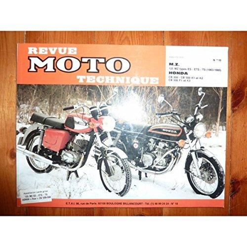 Ré-édition - CB500 FOUR 125ES,ETS,TS Revue Technique moto Honda Mz Etat - Bon Etat Occasion