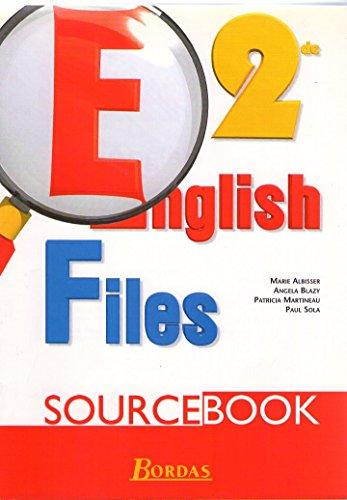English files, seconde. Source book